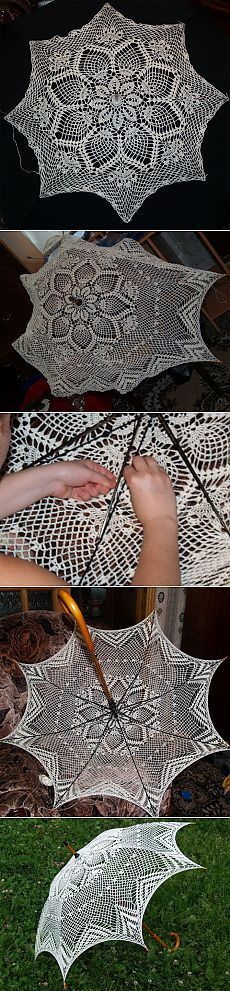 Home Decor and Craft ideas Freeform Crochet, Thread Crochet, Filet Crochet, Irish Crochet, Crochet Motif, Crochet Designs, Crochet Doilies, Crochet Stitches, Knit Crochet