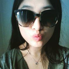 @majiaxin23 Finally got my sunglasses for summer  Frame: Ria