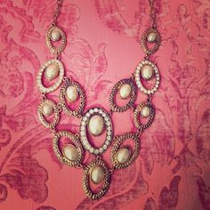 Charming Charlie Statement Necklace In perfect condition only worn once. Charming Charlie Jewelry Necklaces