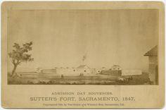 Fort Sutter, Sacramento, 1847