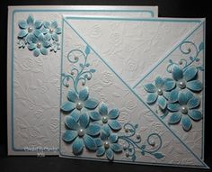 Criss-Cross Card & Box by: carolynshellard