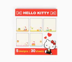 Hello Kitty Sticky Notes: Every Day