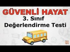 3. SINIF HAYAT BİLGİSİ - GÜVENLİ HAYAT Education, School, Youtube, Training, Educational Illustrations, Learning, Youtubers, Onderwijs, Studying