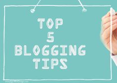 Blogging Tips For Successful Small Business Owners. Thousands of blogs get launched by aspiring bloggers and small business owners across the globe every single day.