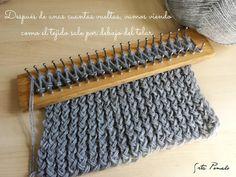 DIY: cómo hacer una bufanda con el telar maya