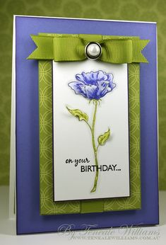 great color combo- Birthday Beauty - Stunning!