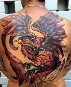 New Phoenix Tattoo Designs For 2016 (32)