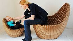 Creative cardboard chairs to relax in comfort