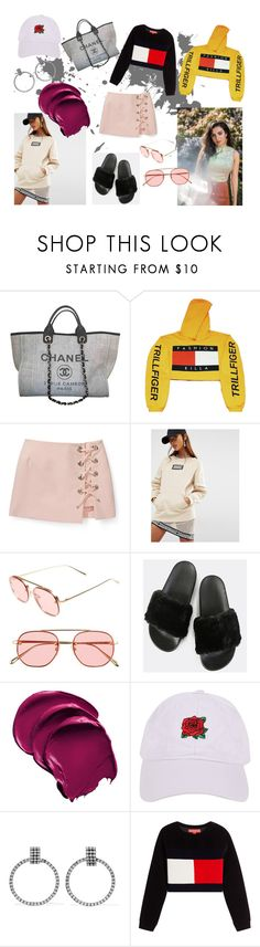 """cut n run"" by kara-lee-x on Polyvore featuring Chanel, Charli, Rebecca Minkoff, Shade, Bonnie Clyde, Armitage Avenue, DANNIJO and Hilfiger Collection"