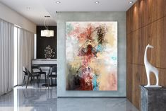 Large Painting on Canvas,Extra Large Painting on Canvas,painting canvas art,painting for home,large modern canvas Large Abstract Wall Art, Large Canvas Art, Large Painting, Painting Art, Textured Painting, Abstract Paintings, Art Paintings, Oversized Wall Decor, Unique Paintings
