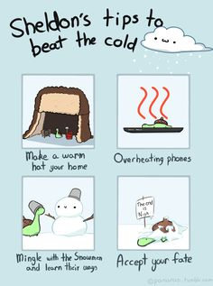 Sheldon's Tips To Beat the Cold