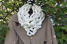 Daniela999 / Mega očko IV. Crochet Necklace, Handmade, Accessories, Jewelry, Fashion, Crochet Collar, Jewellery Making, Moda, Jewelery