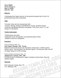 sales and marketing resume templates salesandmarketingresumetemplates - Sales And Marketing Resume
