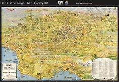 #Map Los Angeles, #California – the wonder city of America (1932) #LA #LosAngeles — http://www.bigmapblog.com/2011/los-angeles-the-wonder-city-of-america-1934/