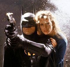 DC Comics in film n°8 - 1989 - Batman - Michael Keaton as Batman & Kim Basinger as Vicki Vale