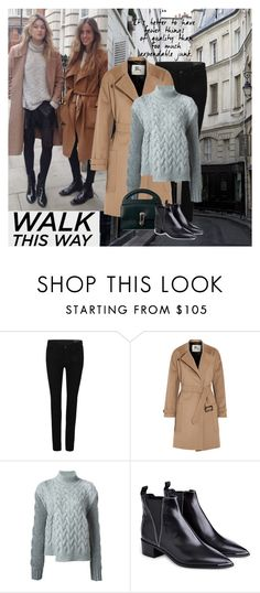 """""""Walk this Way"""" by tinayar ❤ liked on Polyvore featuring AllSaints, Burberry, STELLA McCARTNEY, Balenciaga and Acne Studios"""