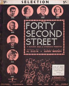 Forty Second Street Selection - The Bill Douglas Cinema Museum