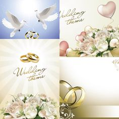 Wedding-theme-vector