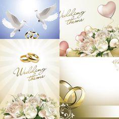 Wedding-theme-vector