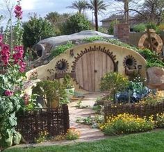 """A typical Hobbit hole - Inspired & practical architecture used in the Midwest in book 2 of, """"The Rising: The Great Expansion."""""""