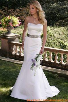 2013 Schlichte Brautkleider aus Satin