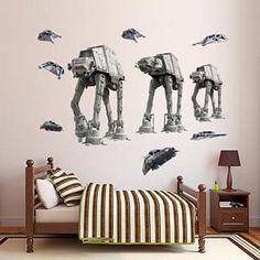Star Wars Sticker Mural Yoda The Empire Strikes Back Wall Decal Jedi a96