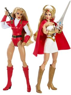 Barbie Princesa Adora e Barbie She-Ra Disney Animator Doll, Disney Dolls, Gal Gadot, Vintage Barbie, Vintage Dolls, 80s Cartoon Shows, 1980 Cartoons, Best Cartoons Ever, Halloween Miniatures