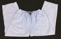 Denim & Co Cotton Pants Pull On Classic Waist Drawstring Lilac Purple Size XL 28 #DenimCo #CasualPants