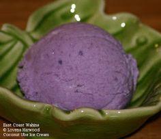 East Coast Wahine: Coconut & Ube (Purple Yam) Ice Cream