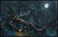 Philippines' AGTA/KAPRE __ Is a tall creature, with skin as black as charcoal. These creatures reside in different trees.