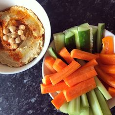 Finally tucking into my homemade hummus with some carrots, cucumber, peppers and celery.  #eatclean #eathealthy #energy #runningfuel #preworkout #photography #AbsSoFoodie #sunday #food #fitfam #fitfamuk #saladbowl #foodphotography #homemade #healthy #healthyfood #healthyeating #healthyliving #cleaneating #cleanliving #tahini #hummus #homemadetahini #homemadehummus