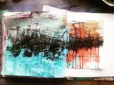 A continuing search for meaning. #artjournal #visualjournal #art #studio