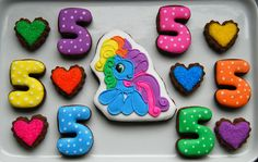 Image detail for -grace s my little pony cookies 2 these are for my friend s daughter ...