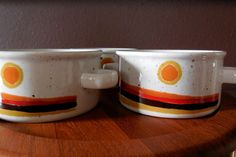 Mid Century Midwinter Stonehenge Day Soup Bowl by MidCenturyFLA, $24.00