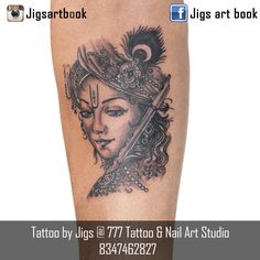 2f60e926df2f Tattoo By Jigs at 777 Tattoo   Nail Art Studio