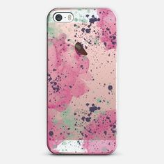 Pink and Purple Splash - Snap Case