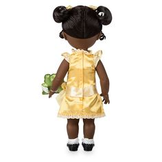 Disney Animators' Collection Tiana Doll - The Princess and the Frog - shopDisney Mickey Mouse Club, Disney Mickey Mouse, Frog Puppet, Disney Store Uk, Tiana Disney, Frog Cakes, Walt Disney Animation Studios, Disney Sketches, Dolls