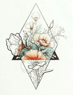 Art Drawings Beautiful Sketches 25 New Ideas Tattoo Design Drawings, Tattoo Sketches, Drawing Sketches, Eye Sketch, Drawing Eyes, Tattoo Designs, Geometric Art Tattoo, Geometric Flower, Geometric Drawing