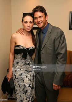 Clarie Forlani and Dougray Scott Dougray Scott, Claire Forlani, Strapless Dress Formal, Formal Dresses, Desperate Housewives, Jackie Chan, Classic Beauty, Famous People, Crushes
