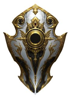 The Shield of the Shining Sun, a unique item forged by the Light Clerics of Northstar. The wielder's faith fills the crater in its center, manifesting it as a miniature sun that can be used to unleash powerful fire and radiant attacks. Fantasy Armor, Fantasy Weapons, Medieval Fantasy, Super Mario Rpg, Weapon Concept Art, Armor Concept, Rogue Rpg, Rpg Horror, Rpg Wallpaper