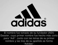 Significado logo Adidas