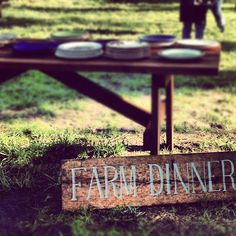 outstanding in the field farm dinner - details about the whole evening. recipe cook station menu