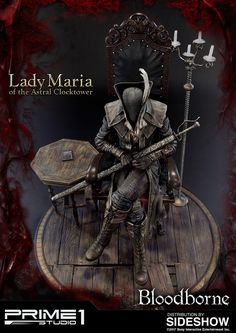 Bloodborne: The Old Hunters Lady Maria of the Astral Clockto Bloodborne Figure, Bloodborne Art, Soul Game, Dark Fantasy, Action Figures, That Look, Sci Fi, Old Things, Comic Books
