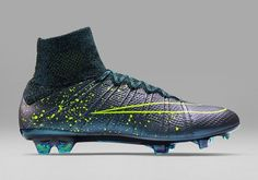 Neon Dreams  Nike Roll Out New Paint-Splattered  Electro Flare  Boot Pack 61240426668fb