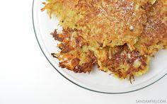 vegan potato pancakes / wegańskie placki ziemniaczane
