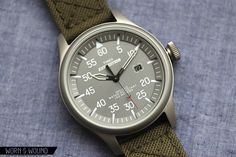 Timex - T49875 Expedition Military Field Watch (Green Nylon Strap) $46    http://www.amazon.com/gp/product/B006K6PCQ0/ref=as_li_ss_tl?ie=UTF8=1789=390957=B006K6PCQ0=as2=wornwound-20