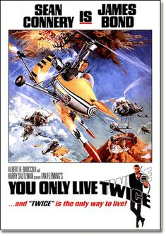 5. James Bond: You Only Live Twice (1967)    007 played by: Sean Connery  Bond Girl: Akiko Wakabayashi (Aki)  Directed by: Lewis Gilbert  Filming budget: $9,500,000  Time between this and previous release: 2 years