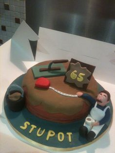 Plasterer Cake Ideas