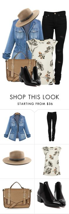 """""""COUNTRY SIDE"""" by ele88na ❤ liked on Polyvore featuring Yves Saint Laurent, rag & bone, Oasis, Topshop, country, women's clothing, women, female, woman and misses"""