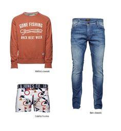 Have a nice weekend guys!   #sweat #jeans #denim #boxer #men #boy #outfit #fashion #style #trend #look #orange #boxers #menswear #mensfashion